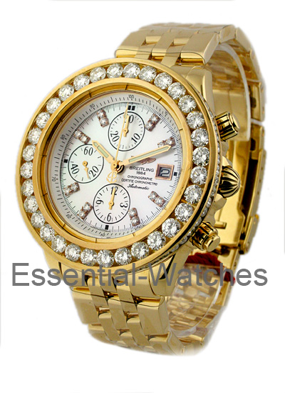 breitling watches gold 408inc
